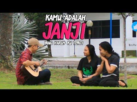 JANJI - BUAT CEWEK SAMPAI BAPER  -  #SONGCOMMENT2