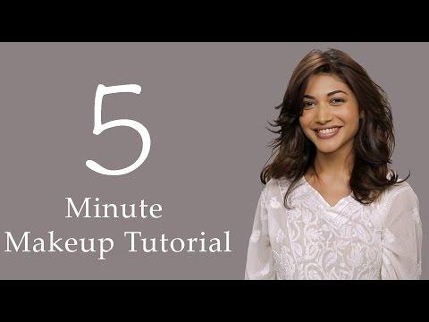 5 Minute Makeup & Hair Tutorial