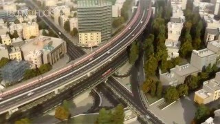 Tehran Sadr Multilevel Expressway_3D Animation_Main Intersections