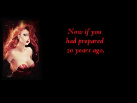 Jessica Rabbit Why dont you do right