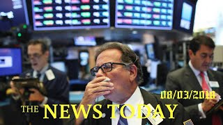 S&P, Dow Edge Higher As Strong Earnings Offset Trade Tensions | News Today | 08/03/2018 | Donal...