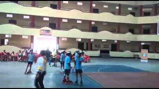 Skate roller shut ball. School national championsh