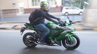 Riding Ninja 1000 Super Power FULL SPEED !! USE Earphones
