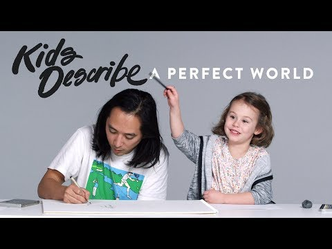 Kids Describe A Perfect World to Koji the Illustrator Kids Describe HiHo Kids