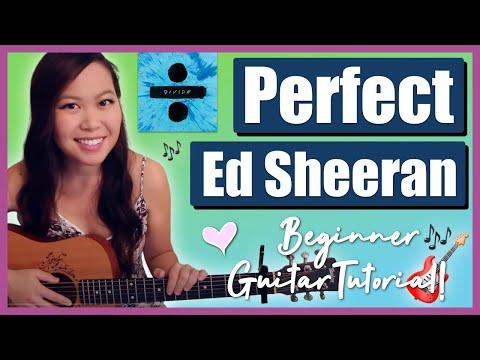 """Perfect"" - Ed Sheeran EASY Guitar TutorialChords"