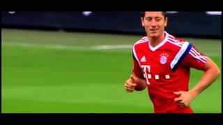 See how Robert Lewandowski winked at Wolfsburg's goalkeeper  after his 5 goals in 9 minutes ! JOKE