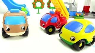 Die Autos sind schmutzig. Zeichentrickfilm auf Deutsch.