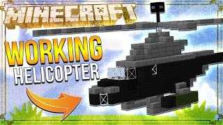 How to Make a Helicopter in Minecraft! (Minecraft 1.10) (Only One Command)