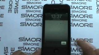 2Phone iPhone 4 Dual SIM Standby adapter case for iPhone 4 - both SIM cards simultaneously