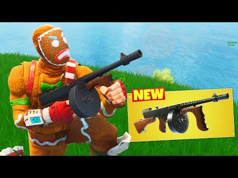 NEW 100 KILLS with THE DRUM GUN in Fortnite Battle Royale