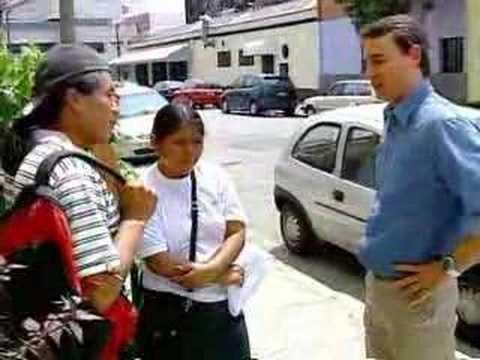 Jornal da Record os Bolivianos 08 10 2007