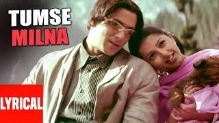 Tumse Milna Lyrical Video   Tere Naam   Himesh Reshammiya   Salman Khan, Bhoomika Chawla