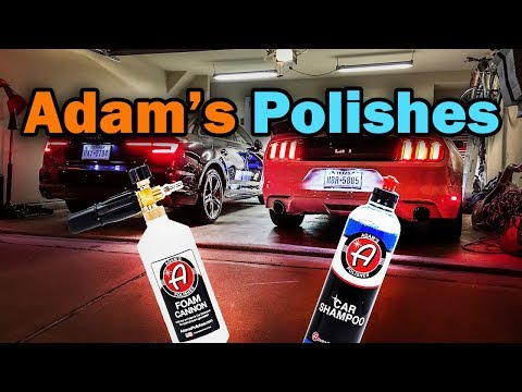 Adam's Foam Cannon Review - Paint Correction 2017 Audi A4 Quattro