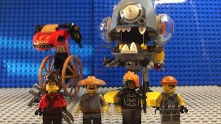 Lego Ninjago Movie PIRANHA ATTACK REVIEW