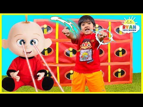 Giant Smash Surprise Incredibles 2 Toys with Jack Jack vs Ryan