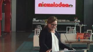 Nickelodeon Studio Expansion Ribbon Cutting Ceremony