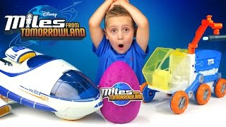 Miles from Tomorrowland Kinder Play-Doh Surprise Egg and Disney ToysReview by KID CITY FAMILY