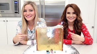 Apple Store Gingerbread House with Ro | Nerdy Nummies | iJustine