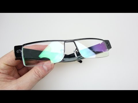 1080p Hidden Camera Spy Glasses REVIEW & DEMO