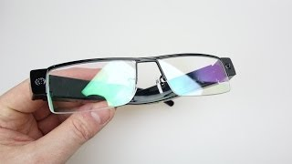 1080p Hidden Camera Spy Glasses - REVIEW & DEMO (2014 Video)