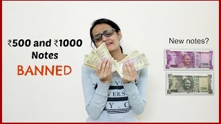 Rs 500 and 1000 Notes BANNED - INDIANS REACT   #SurgicalStrike on Black Money?