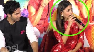 Alia Bhatt Gets Angry On Reporter at Badrinath Ki Dulhania Trailer Launch