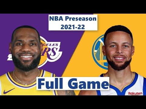 Los Angeles Lakers vs. Golden State Warriors Full Game Highlight NBA Preseason 2021 22