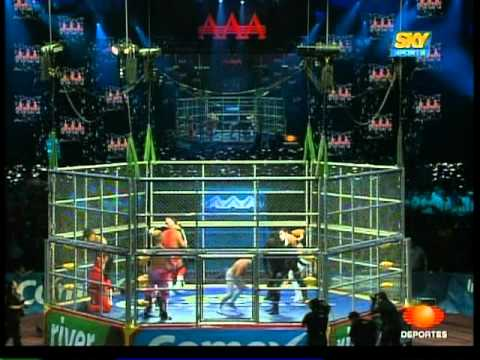 Xxx Mp4 AAA 10 Man Cage Match For Control Of AAA 2009 06 13 3gp Sex