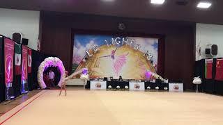 LA Lights - 2018 Rhythmic Gymnastics Tournament - Yana, Level 7, Ball