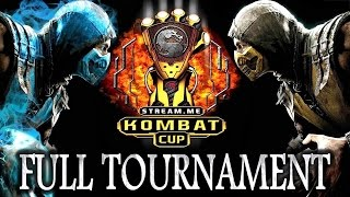 MKX: Kombat Cup - Full Tournament! [TOP8 + Finals] (Ft.: SonicFox, Scar, Dragon etc)
