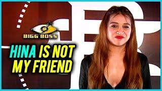 """Hina Khan Is Not My FRIEND"" Confesses Benafsha Soonawalla - Interview"