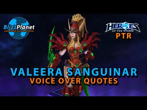 Valeera Sanguinar Voice Over Quotes | Heroes of the Storm