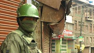 Mugees killing: Restrictions imposed in Kashmir capital; train service suspended