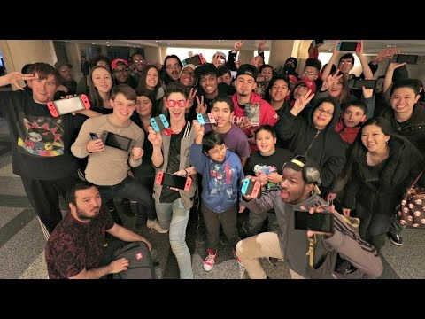 The First Ever Nintendo Switch Meet Up last time I saw everyone in NYC