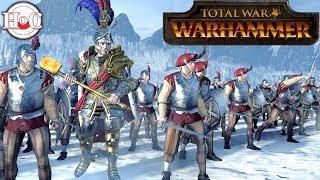 Emperor and the Mammoth - Total War Warhammer Online Battle 354