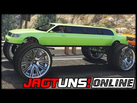 GTA 5 JAGT UNS! #31 | ONLINE | Monster Truck Limo - Deutsch - Grand Theft Auto 5 CHASE US