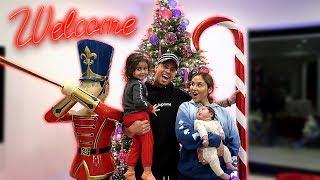 THE ACE FAMILY CHRISTMAS HOUSE TOUR!!!