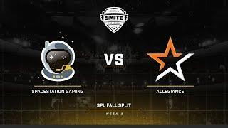 SPL Fall Split NA ALG vs SSG Game 2