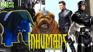 Inhuman Set Photos REVEAL Secret Character?! Black Bolt, Lockjaw and MORE Explained!