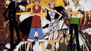 One Piece ED 04 - shouchi no suke (FUNimation English Dub, Sung by Stephanie Young, Subtitled)