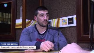 NFM   Filipe Cerqueira   Campeão Nacional de Remo Indoor Parte 1
