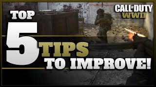 Top 5 Tips to Improve in CoD WW2!