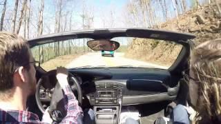 2000 Porsche Boxster Base @ Tail of the Dragon 3/9/17 Deals Gap
