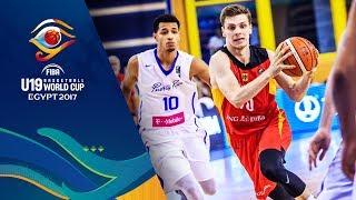 Puerto Rico v Germany - Live - FIBA U19 Basketball World Cup 2017