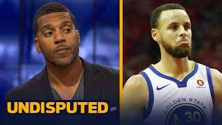 Jim Jackson on why Steph Curry isn't to blame for Warriors Game 2 loss to Rockets   NBA   UNDISPUTED