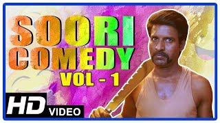 Soori Comedy Scenes | Vol 1 | Udhayanidhi Stalin | Jiiva | Atharvaa | Tamil Comedy Scenes