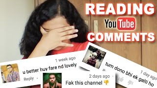 READING YOUTUBE COMMENTS | 10K SUBSCRIBERS (NOT-SO) SPECIAL