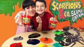 Mega unboxing Scorpions & Co. Slime Edition!!!