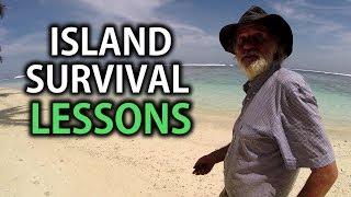 Desert island survival lessons, by Ian Argus Stuart