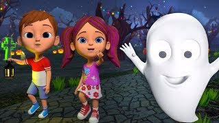 Halloween Nursery Rhymes | Kindergarten Songs | Cartoon Videos  For Kids By Little Treehouse